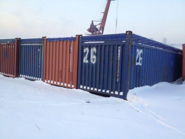 Контейнеры морские в Красноярске