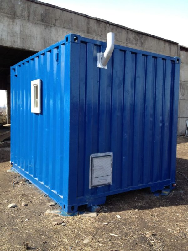 Баня на базе контейнера 5т в Красноярске