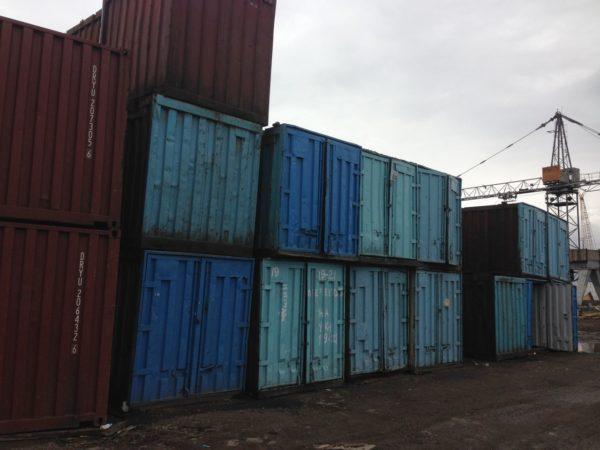 Контейнеры в Красноярске