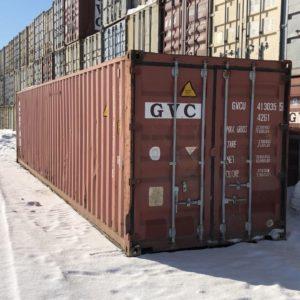 Контейнер морской 40т в Красноярске