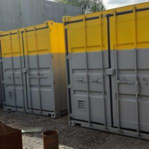 Изготовление складов, для взрывчатых веществ