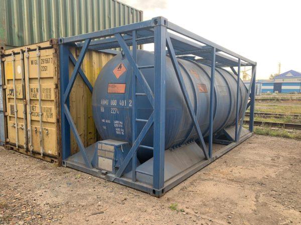 Танк-контейнер 20 футов