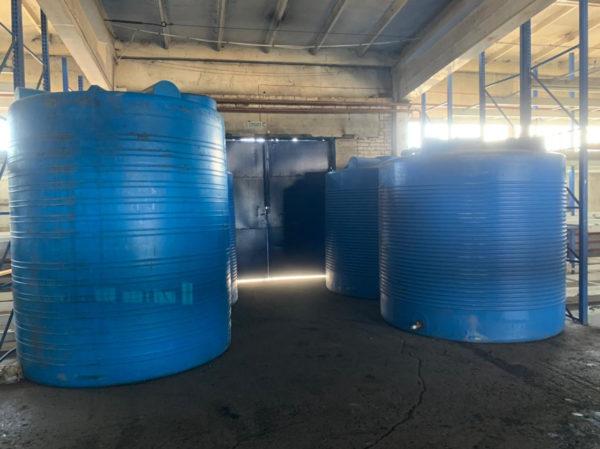 Емкости под воду 9 и 10 м³